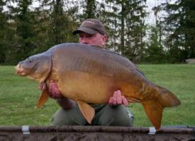 Mike Salisbury 28lbs Mirror Lac De Lumiere