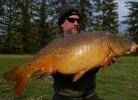 Mike Salisbury 32lbs mirror Lac De Lumiere