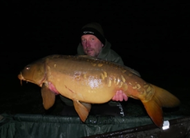Mike Salisbury 34lbs mirror Lac De Lumiere